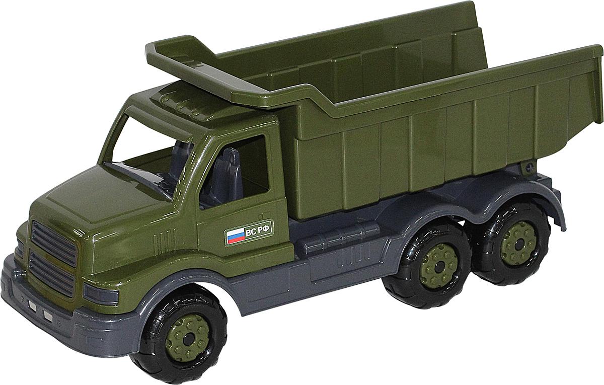 Полесье Военный самосвал Сталкер, цвет в ассортименте игрушка полесье самосвал салют 8946