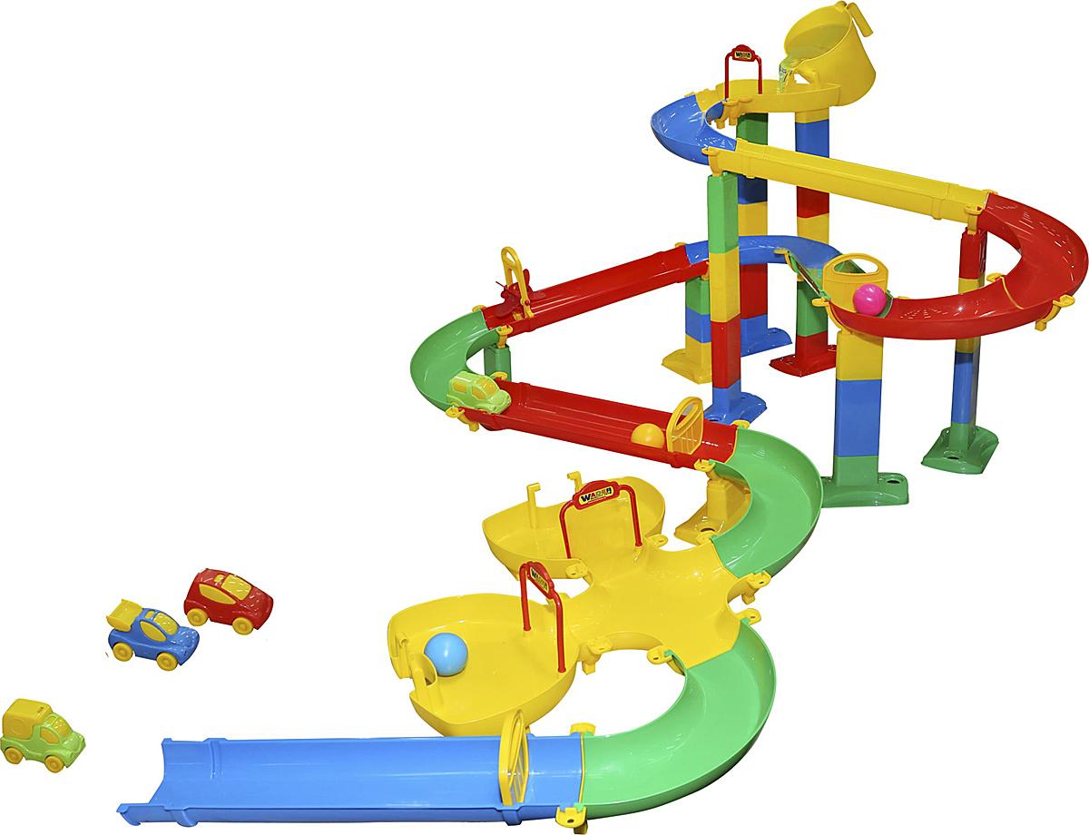 Фото - Полесье Горка для шариков №4, цвет в ассортименте полесье набор игрушек для песочницы 468 цвет в ассортименте