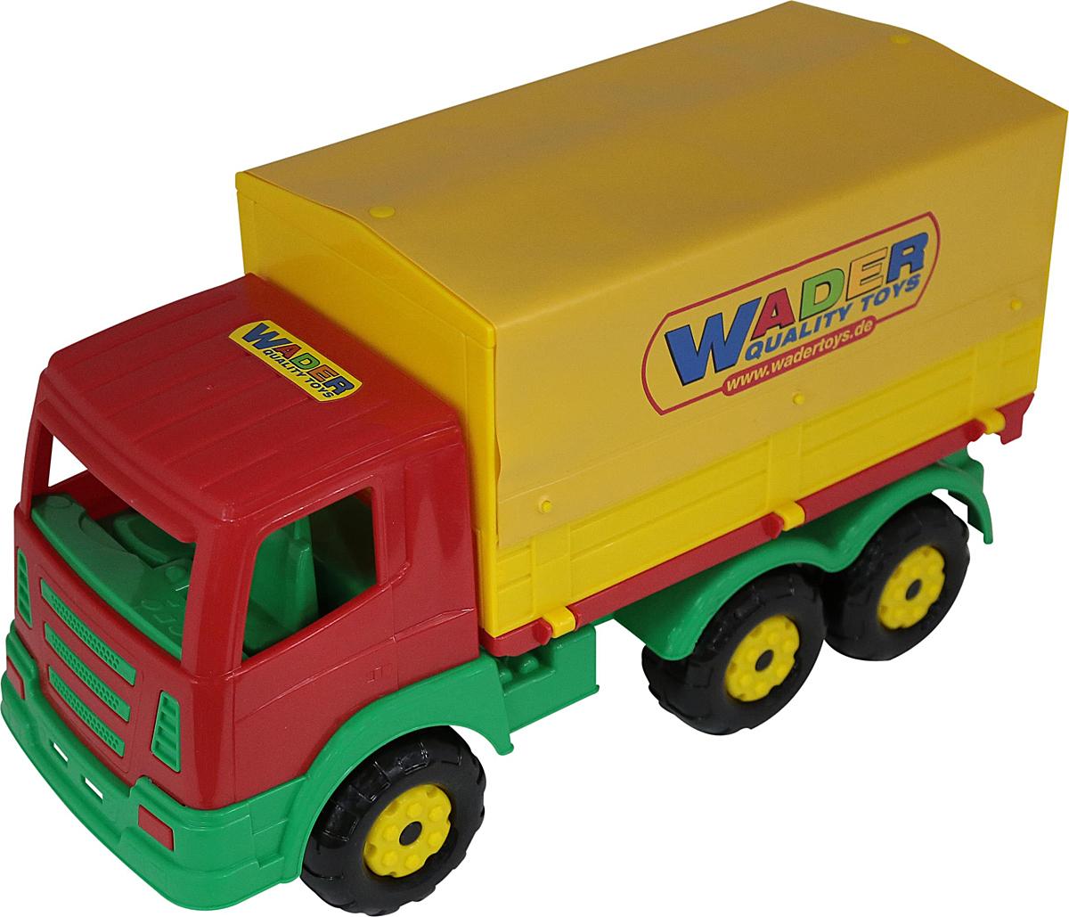 Полесье Грузовик бортовой тентовый Престиж, цвет в ассортименте полесье грузовик бортовой volvo цвет в ассортименте