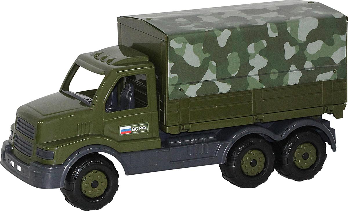 Полесье Грузовик военный бортовой тентовый Сталкер, цвет в ассортименте недорого