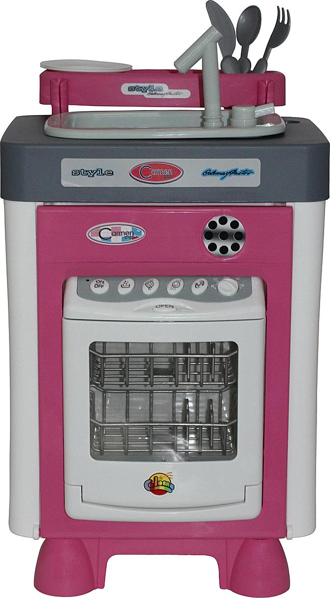 Полесье Игровой набор Carmen №3 с посудомоечной машиной и мойкой 47946, цвет в ассортименте игровой набор klein автосервис bosch с машиной для сборки