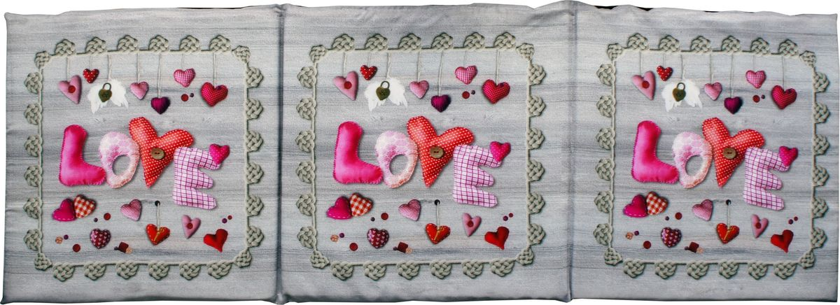 "Матрас для шезлонга Gift'n'Home ""Love"", 40 х 120 см"
