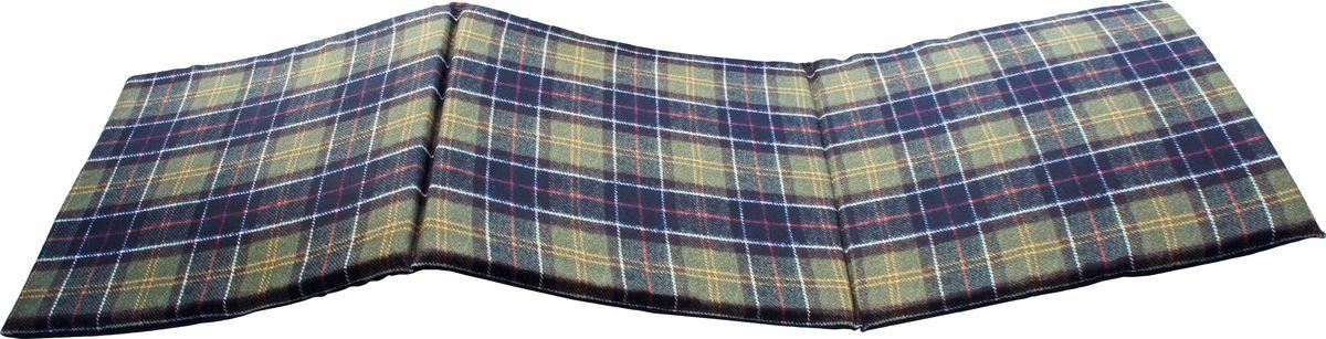 Матрас для шезлонга GiftnHome Шотландка, 40 х 120 см