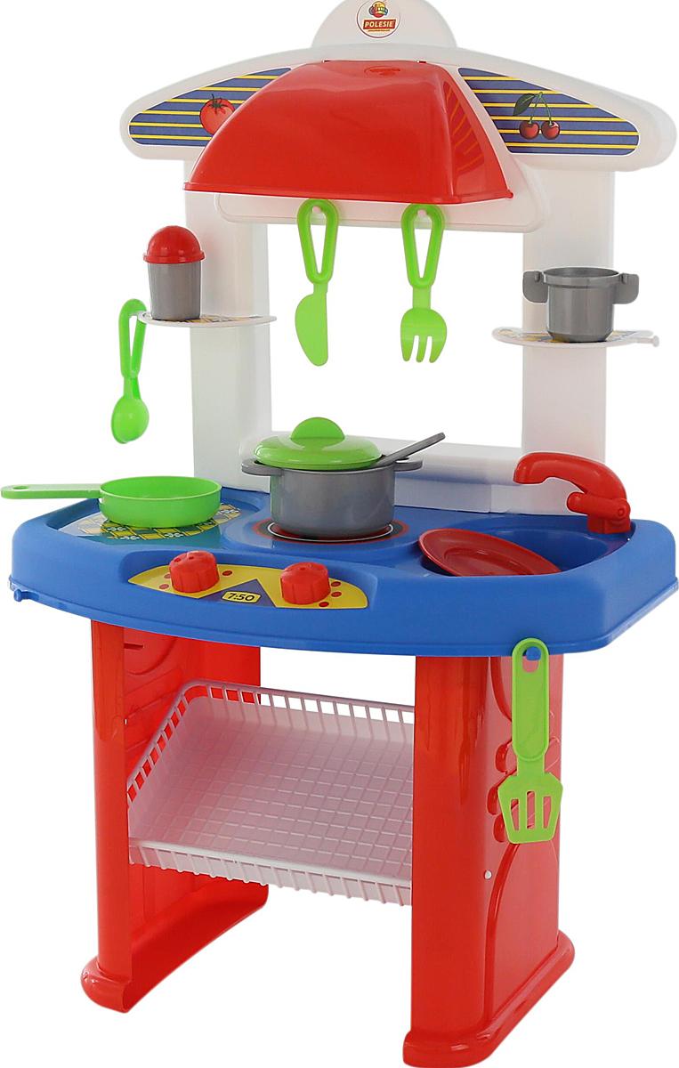 Полесье Игровой набор Кухня Яна 53664, цвет в ассортименте53664Игровой набор Кухня Яна подарит юной хозяйке много восторженных эмоций! На этой кухне девочка найдет кастрюлю, сковороду, вилки и ножи, и другую кухонную утварь!! Яркие краски, множество деталей и отличное качество - вот что нужно вашему ребенку. С такой кухней девочка будет придумывать множество сюжетно-ролевых игр! Уважаемые клиенты! Обращаем ваше внимание на цветовой ассортимент товара. Поставка осуществляется в зависимости от наличия на складе.