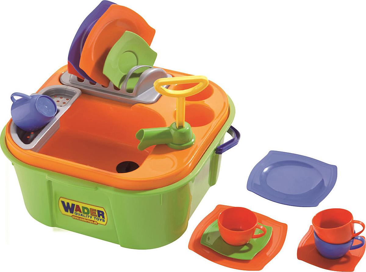 Полесье Игровой набор Мини-посудомойка, цвет в ассортименте полесье игровой набор чистюля мини 42910