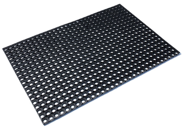 Коврик придверный Vortex Профи, грязесборный, цвет: черный, 100 х 150 см коврик придверный vortex клен грязесборный цвет черный 40 х 60 см