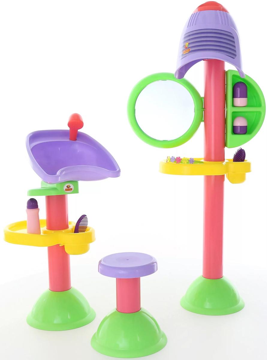Полесье Игровой набор Парикмахерская Злата 58218, цвет в ассортименте