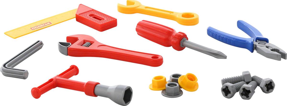 Полесье Игрушечный набор инструментов №12, цвет в ассортименте