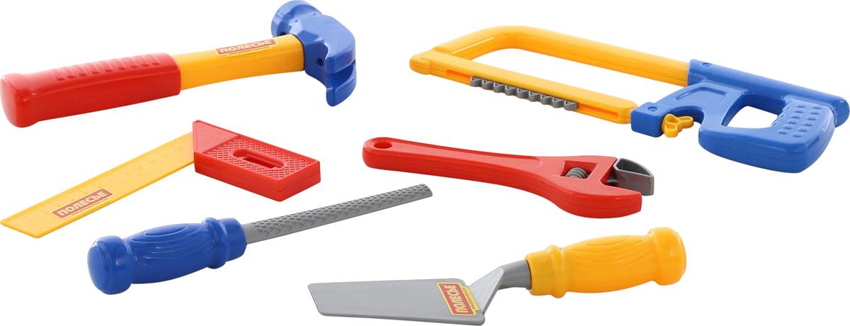 Полесье Игрушечный набор инструментов №13, цвет в ассортименте