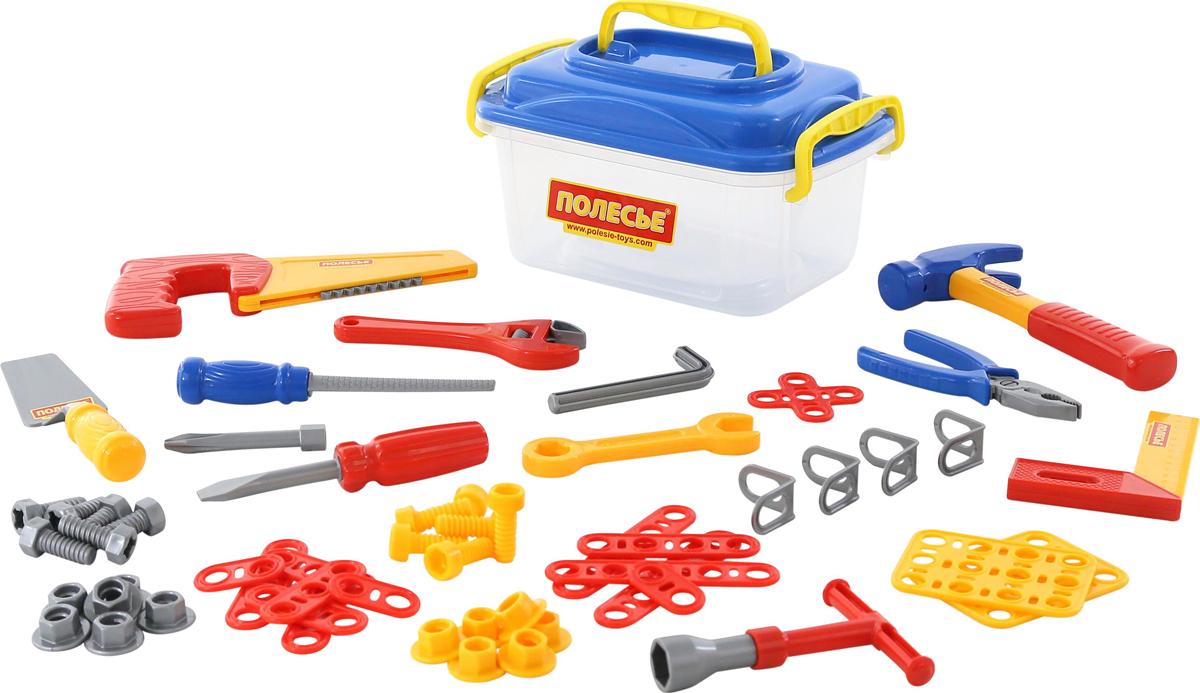 Полесье Игрушечный набор инструментов №15, цвет в ассортименте