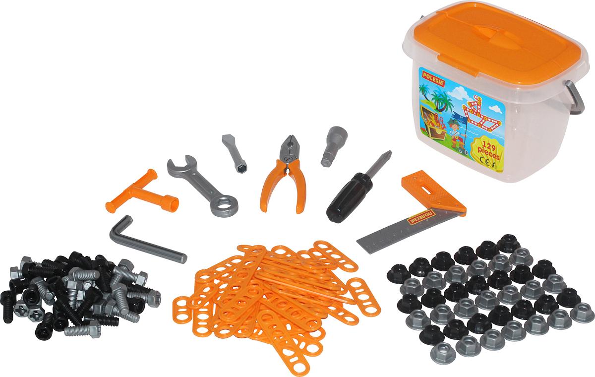 Фото - Полесье Игрушечный набор инструментов №2, цвет в ассортименте полесье набор игрушек для песочницы 468 цвет в ассортименте