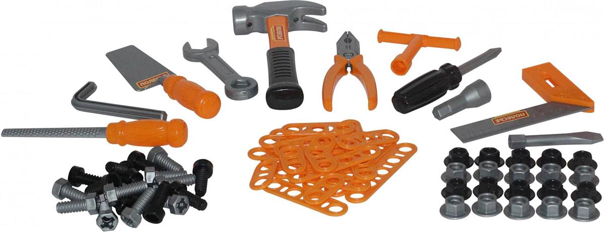 Полесье Игрушечный набор инструментов №4, цвет в ассортименте
