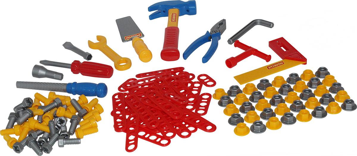 Полесье Игрушечный набор инструментов №6, цвет в ассортименте