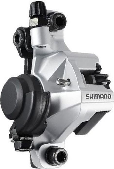 Калипер механических тормозов Shimano BR-M375, цвет: серебристый