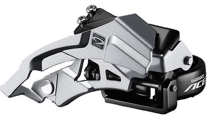 Переключатель передний Shimano Acera M3000, универсальная тяга, универсальный хомут, для рамы с углом 66-69, для 40T