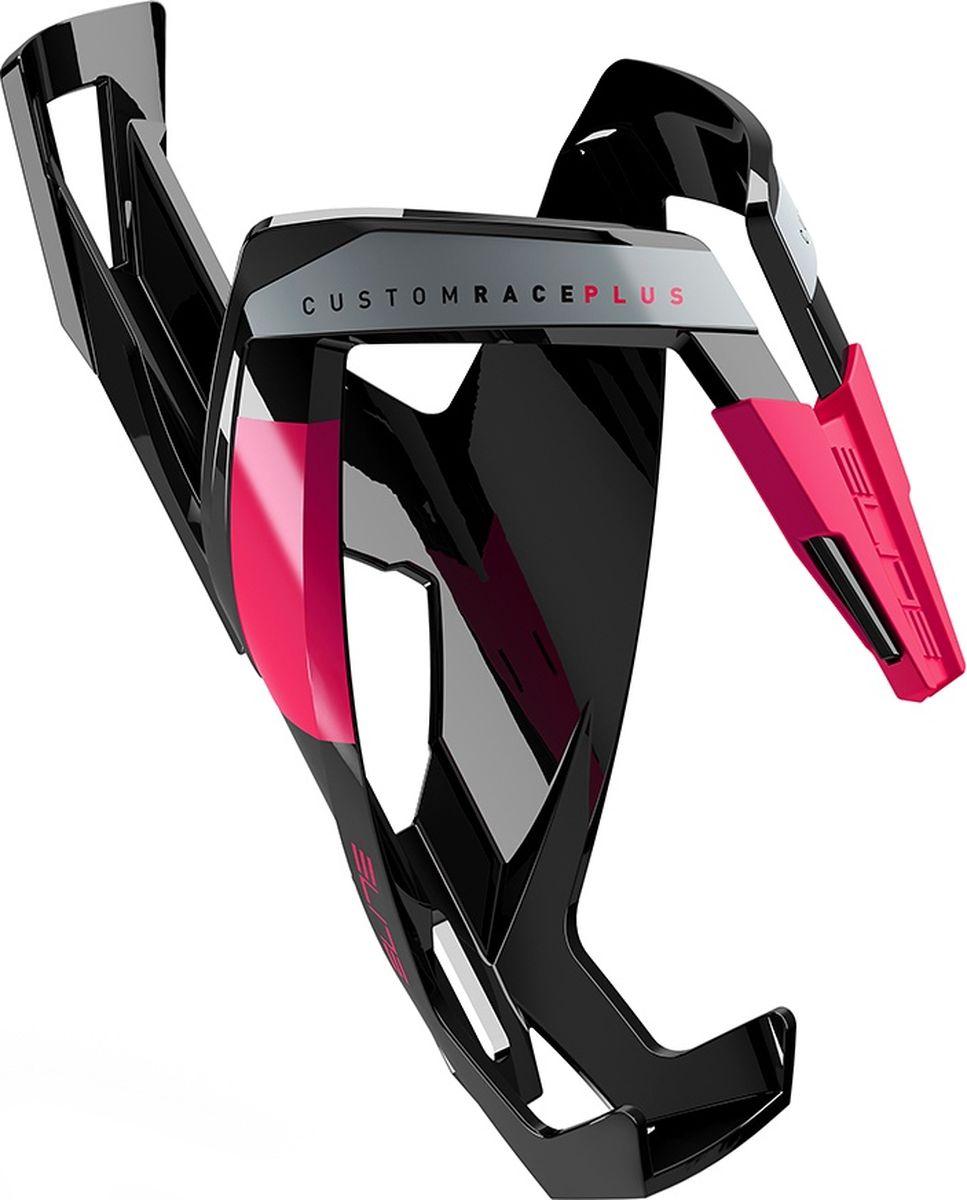 Флягодержатель Elite Custom Race Plus, цвет: черный
