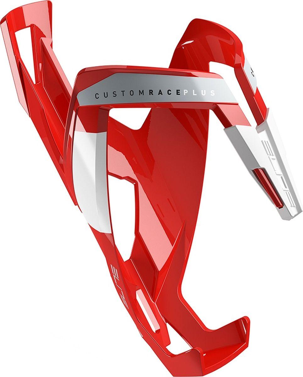 Флягодержатель Elite Custom Race Plus, цвет: красный