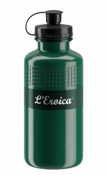 Фляга велосипедная Elite Eroica Oil, 500 мл фляга elite nomo 750 мл пищевой пластик белый el0173002