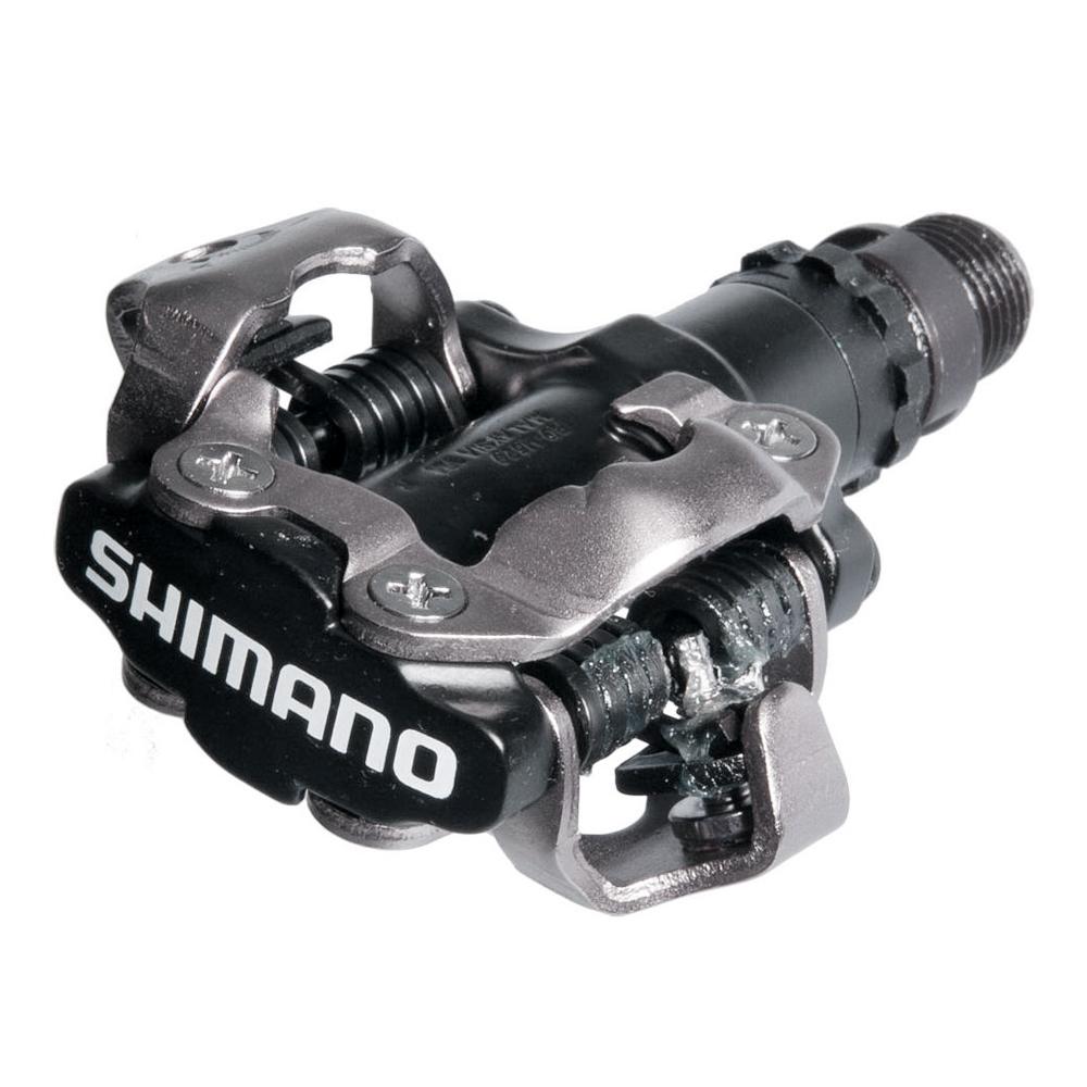 Педали Shimano M520, с шипами, черный цена