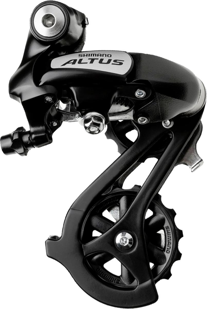 Переключатель задний Shimano Altus M310, 7/8 скоростей, цвет: черный переключатель задний shimano altus m370 sgs 9 скоростей цвет черный
