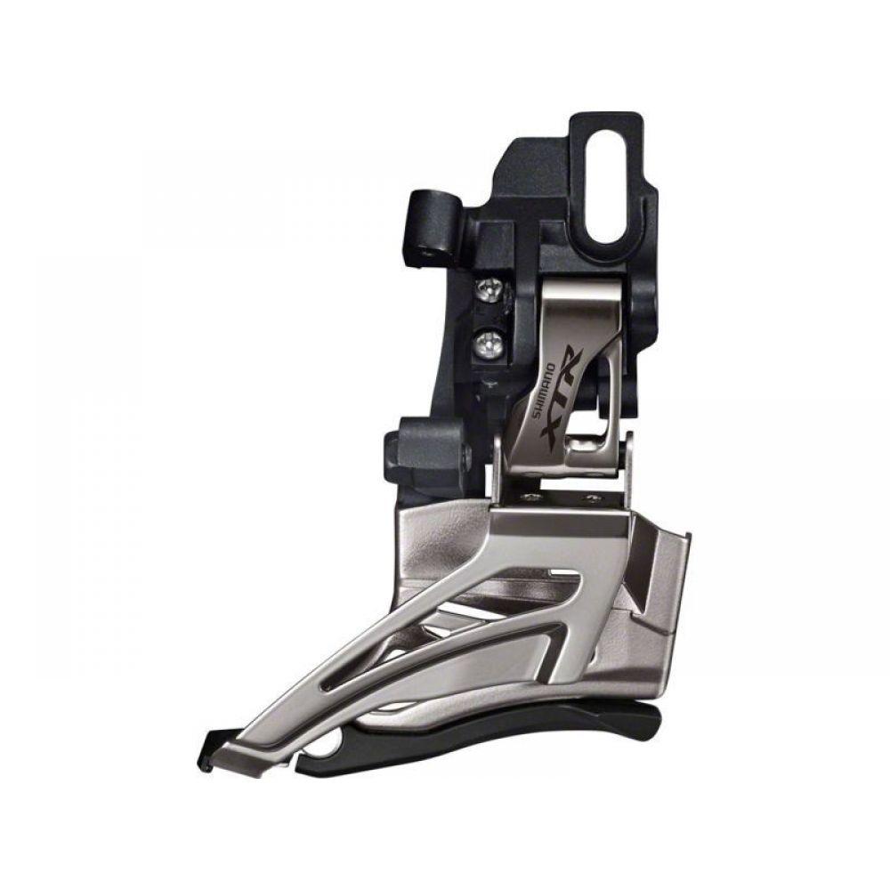 Переключатель передний Shimano XTR M9025-D, 2 х 11 скоростей, универсальная тяга перекл передн shimano xtr fd m9020e 2x11v боковая тяга