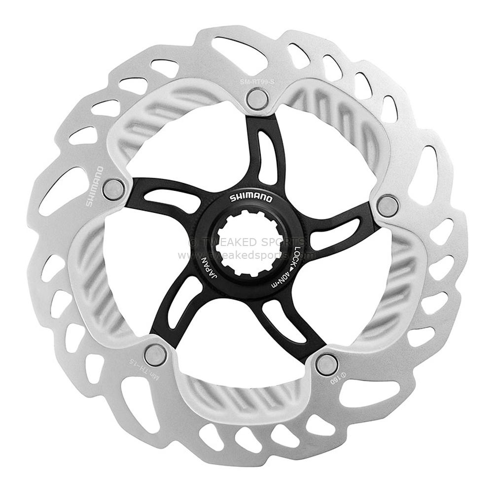 Тормозной диск Shimano XTR RT99, 180 мм, со стопорным кольцом