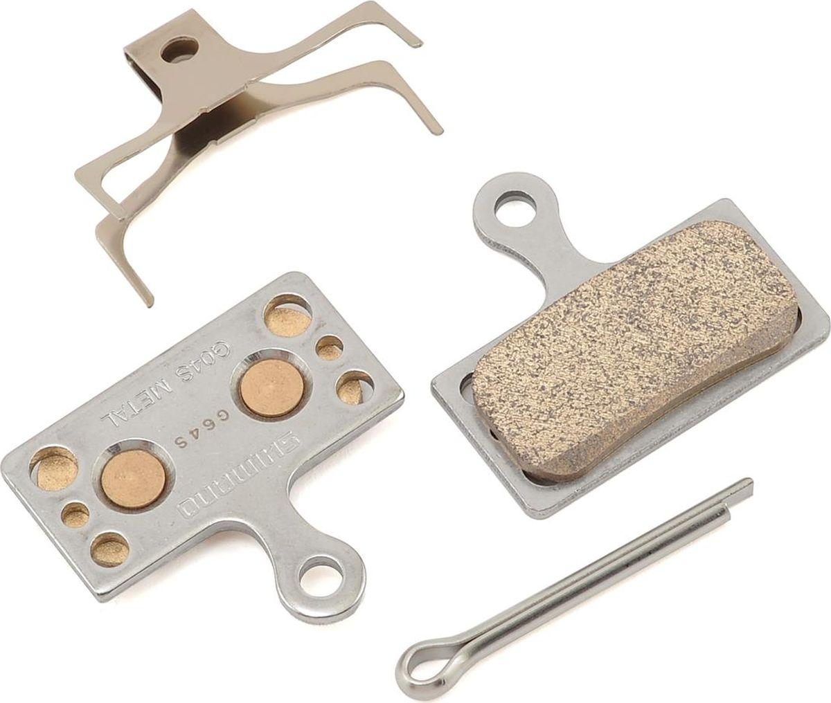 Тормозные колодки Shimano G04S, для дисковых тормозов, с шплинтом тормозные колодки для велосипеда shimano для дискового тормоза m07ti пара пластик y8e598020