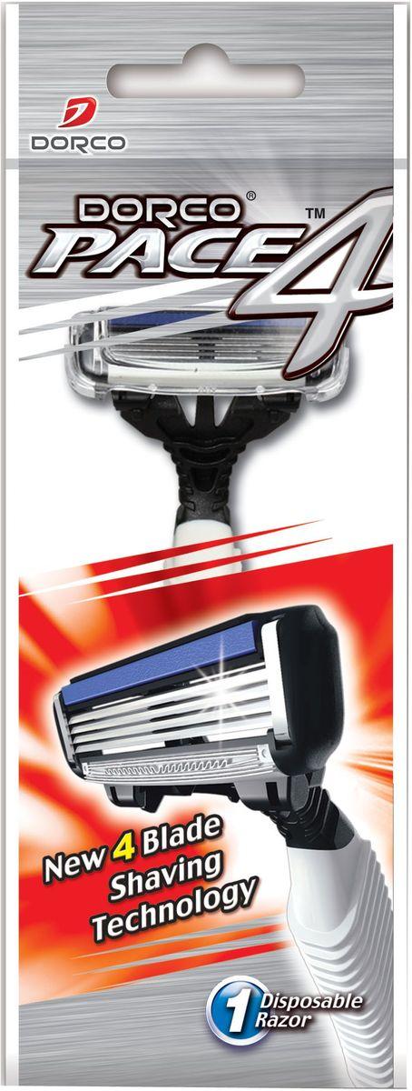 Dorco Станок для бритья Pace 4, одноразовый станок для бритья dorco