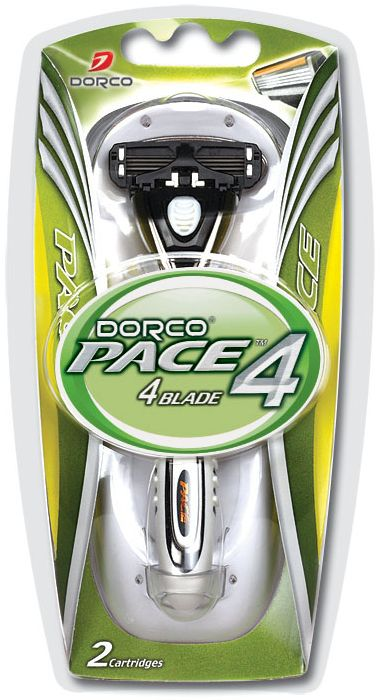 Dorco Cтанок для бритья Pace 4, 2 сменные кассеты станок для бритья dorco