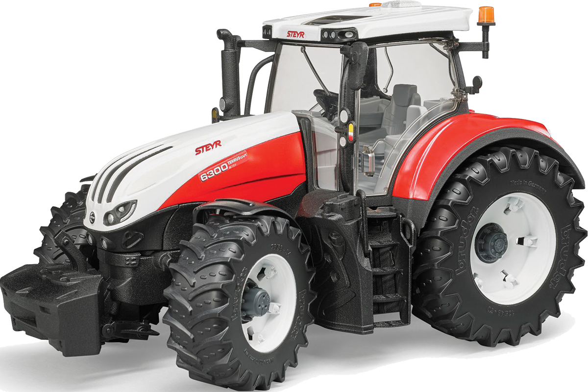Bruder Трактор Steyr 6300 Terrus CVT шины для системы сдвоенных колес bruder 03 30