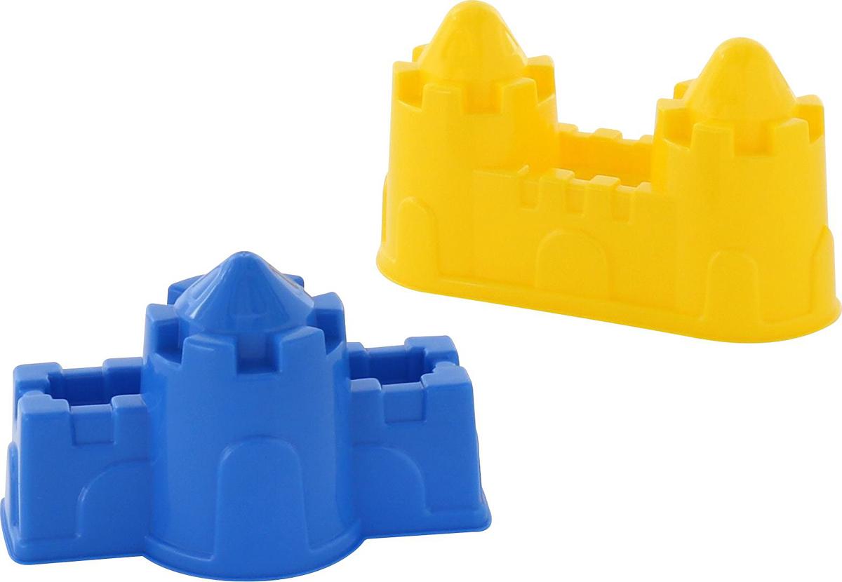 Фото - Полесье Игрушка для песочницы Формочки Замок 2 шт 57495, цвет в ассортименте полесье набор игрушек для песочницы 468 цвет в ассортименте
