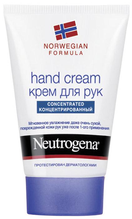 Крем для рук Neutrogena, с запахом, 50 мл neutrogena крем для рук антивозрастной age shield hand cream 50 мл