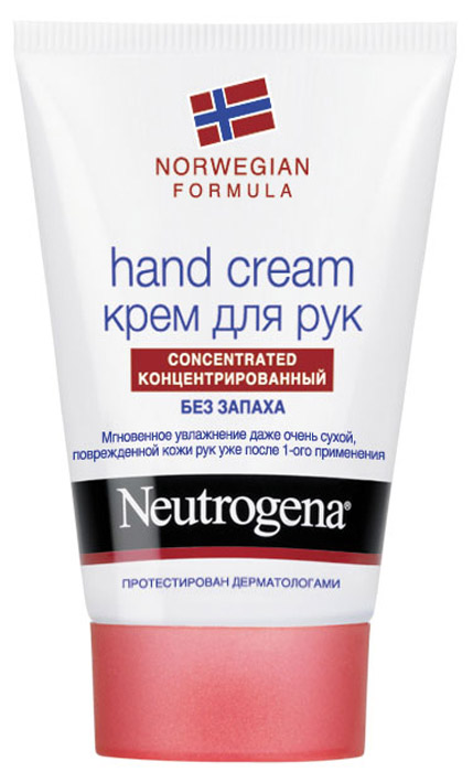 Крем Neutrogena для рук, без запаха, 50 мл neutrogena крем для рук антивозрастной age shield hand cream 50 мл