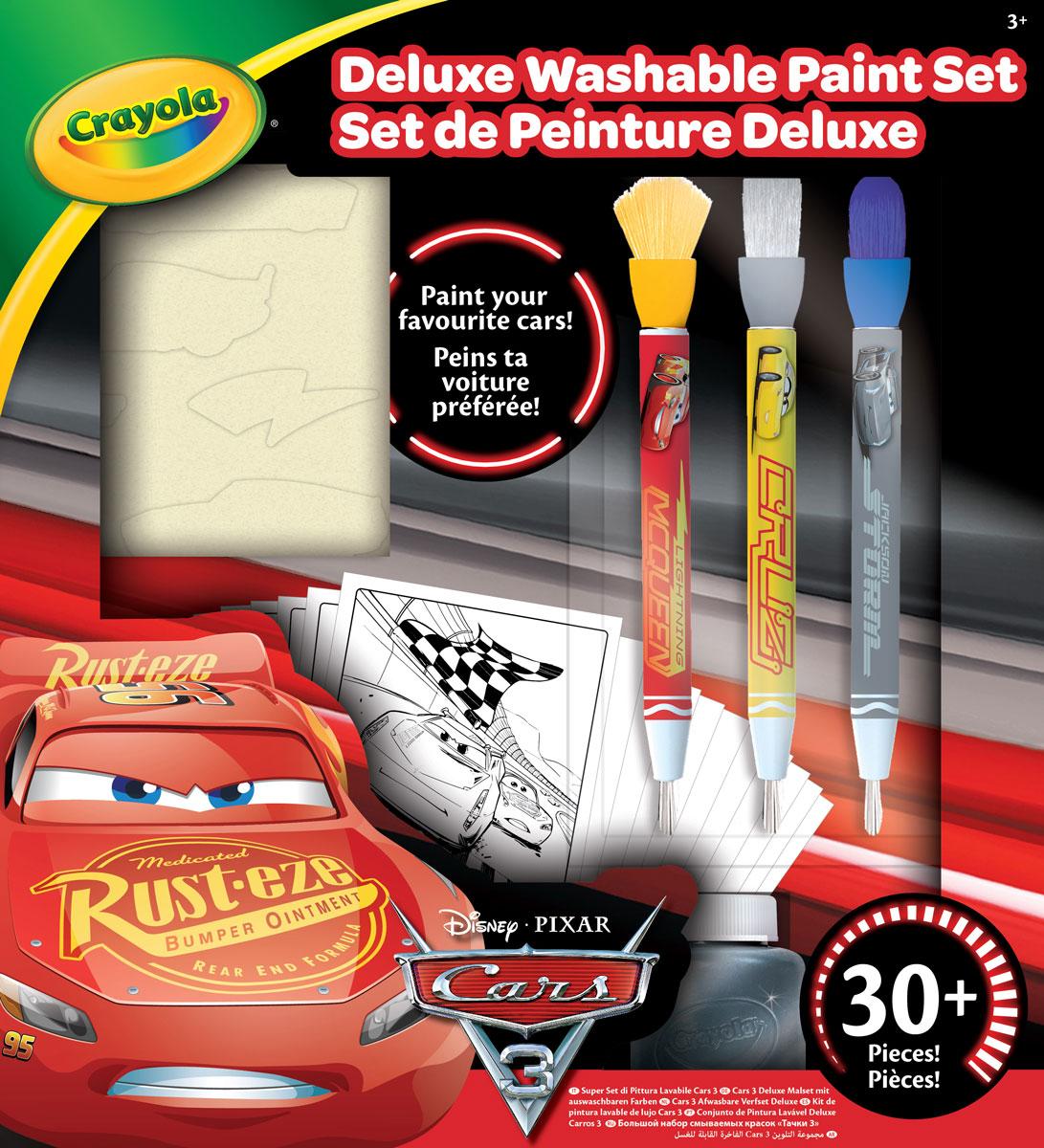 Crayola Набор для рисования Тачки 3 54-0159 набор красок crayola poster paints