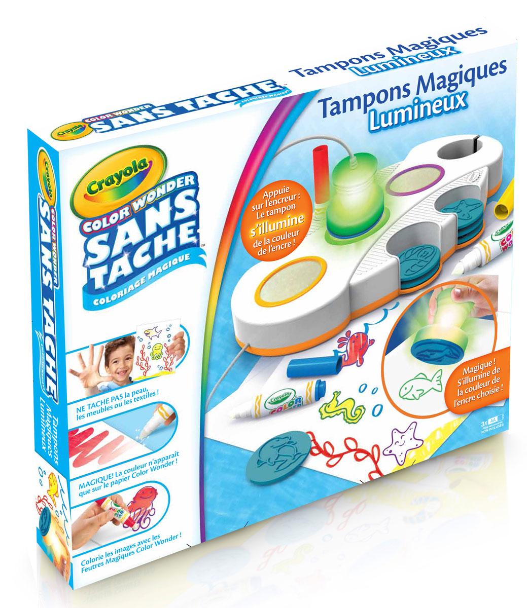 Crayola Набор печатей Color Wonder набор развивающий для ребенка crayola мой первый набор печатей