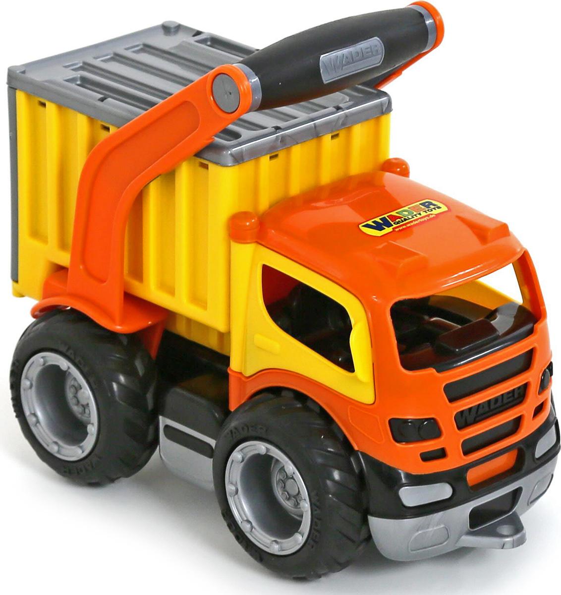 игрушки в песочницу Полесье Контейнеровоз ГрипТрак 37435, цвет в ассортименте
