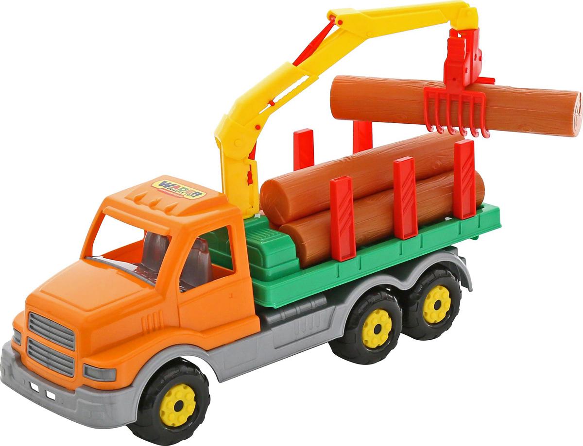 игрушки в песочницу Полесье Лесовоз Сталкер, цвет в ассортименте