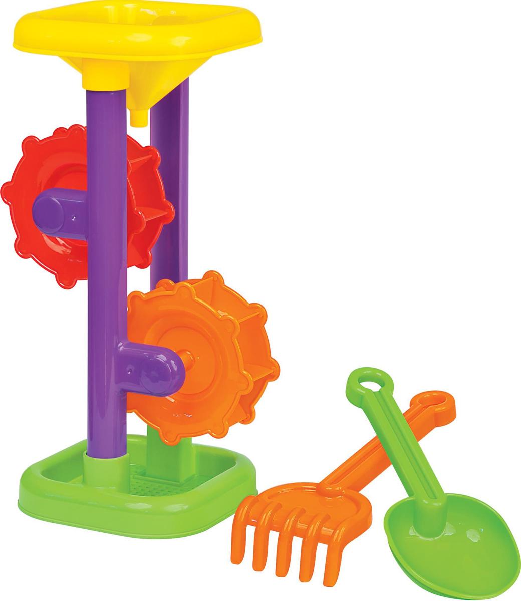 Фото - Полесье Набор игрушек для песочницы №281, цвет в ассортименте полесье набор игрушек для песочницы 468 цвет в ассортименте