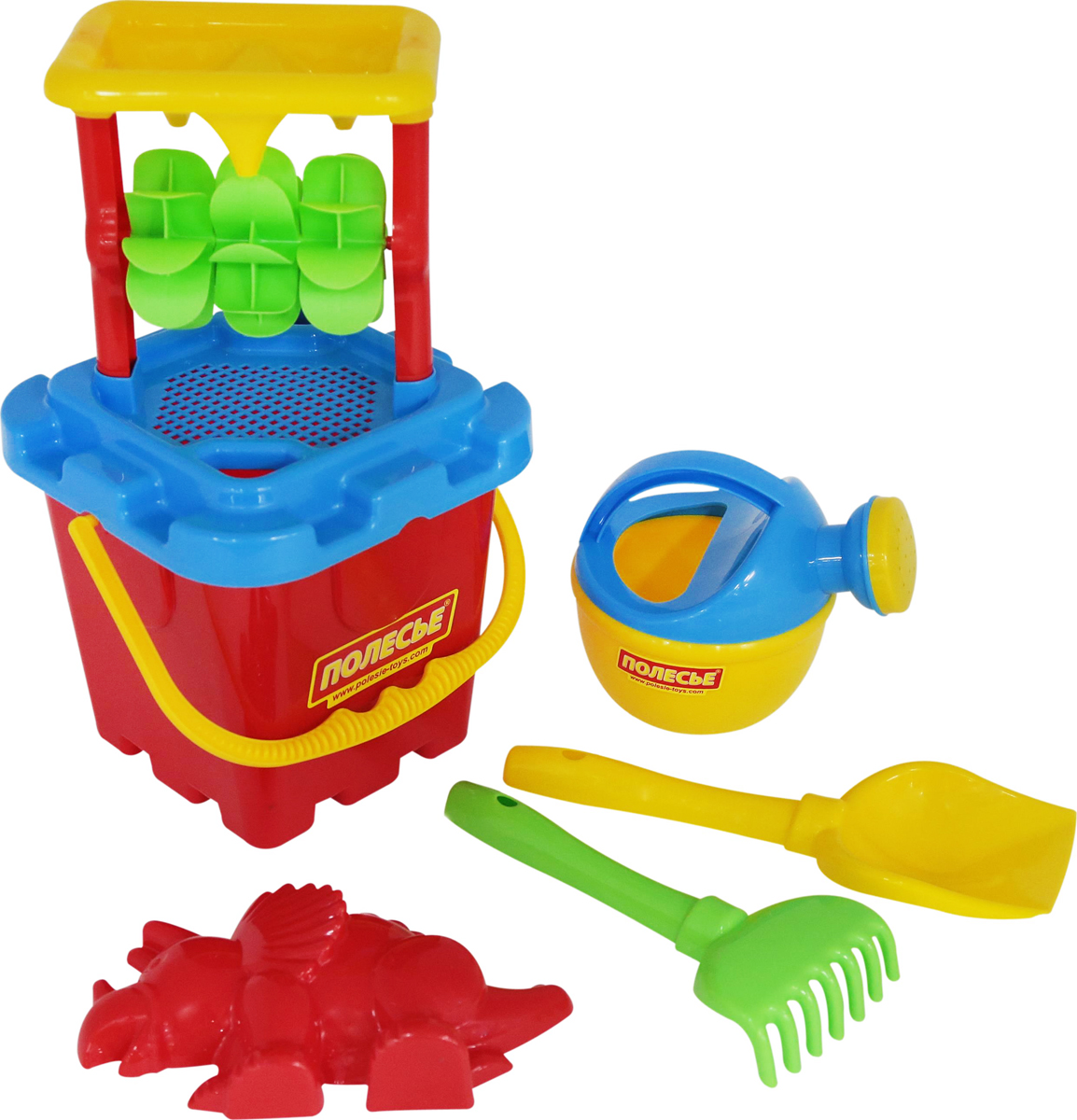 Фото - Полесье Набор игрушек для песочницы №285, цвет в ассортименте полесье набор игрушек для песочницы 468 цвет в ассортименте