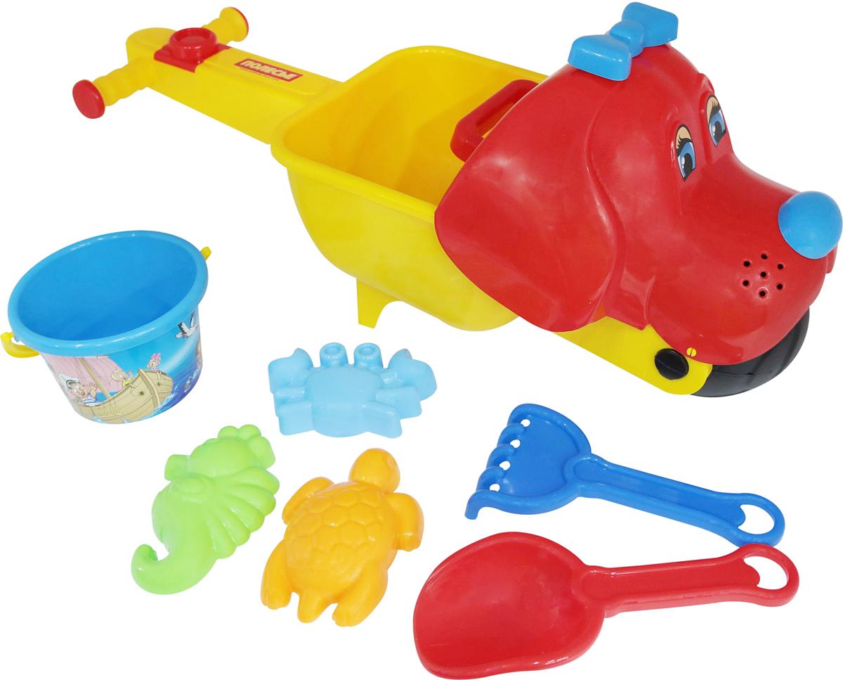 Полесье Набор игрушек для песочницы №340, цвет в ассортименте