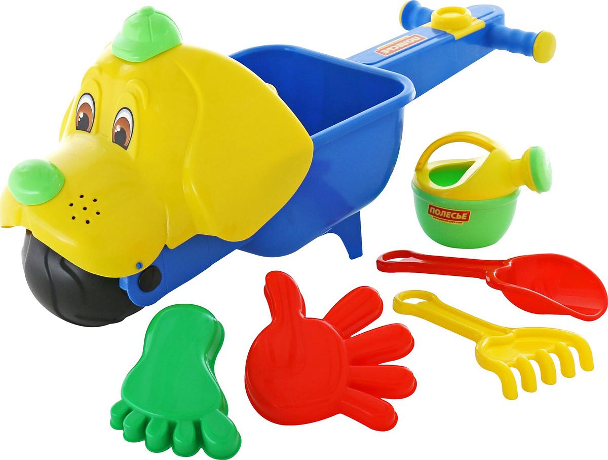 Полесье Набор игрушек для песочницы №341, цвет в ассортименте