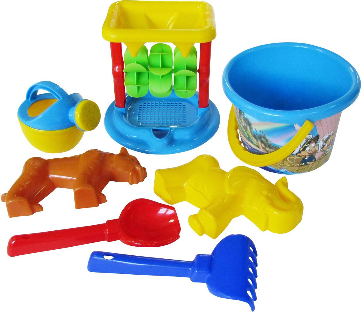 Полесье Набор игрушек для песочницы №350, цвет в ассортименте