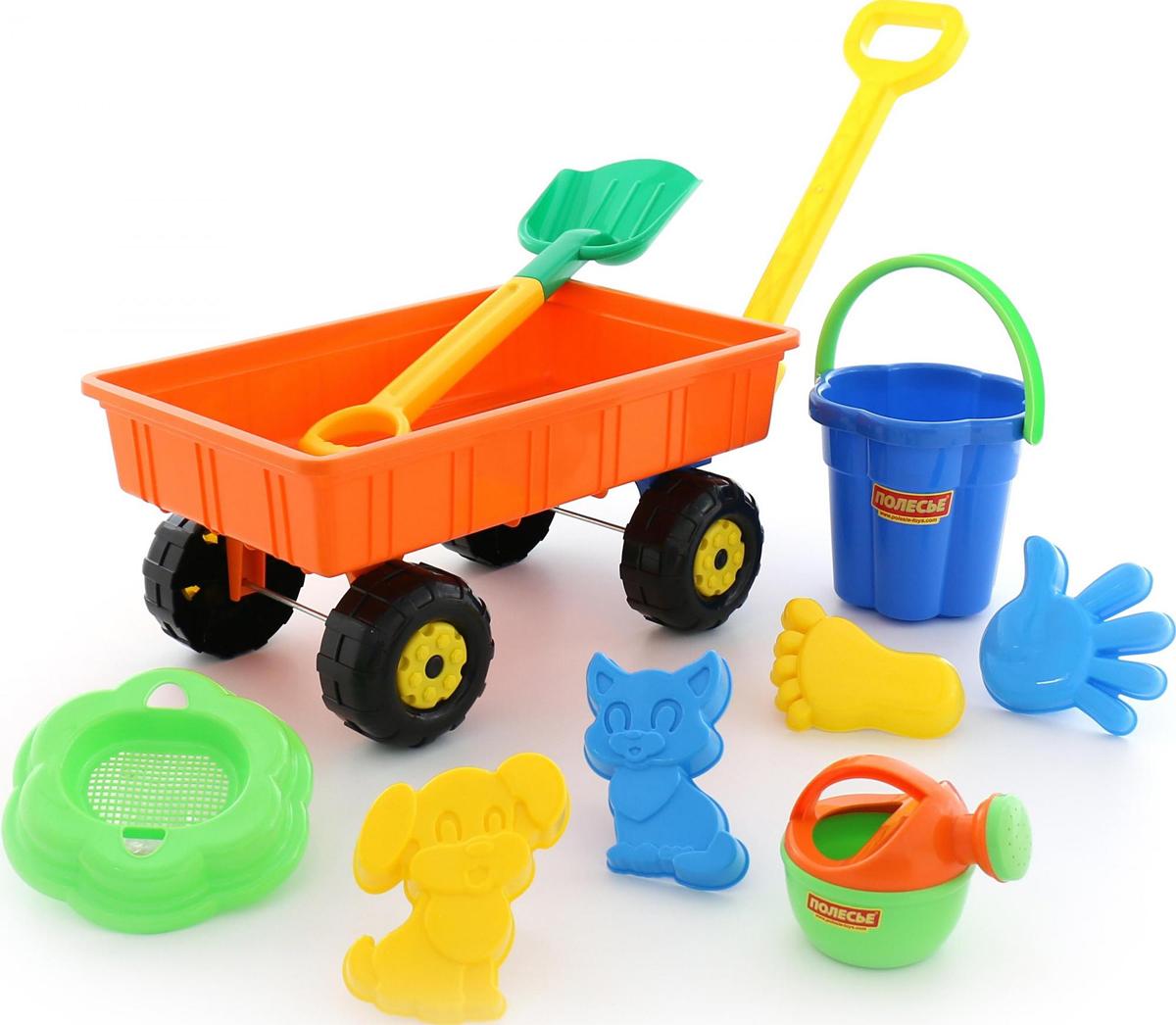 Полесье Набор игрушек для песочницы №382, цвет в ассортименте