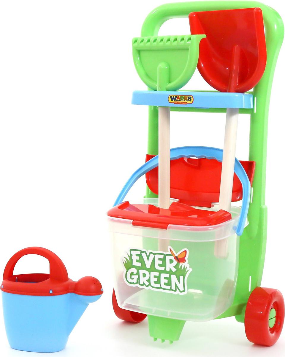 Полесье Набор игрушек для песочницы №395 Ever Green, цвет в ассортименте