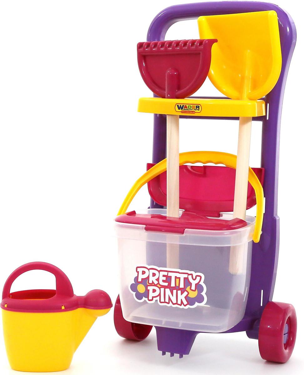 Полесье Набор игрушек для песочницы №396 Pretty Pink, цвет в ассортименте