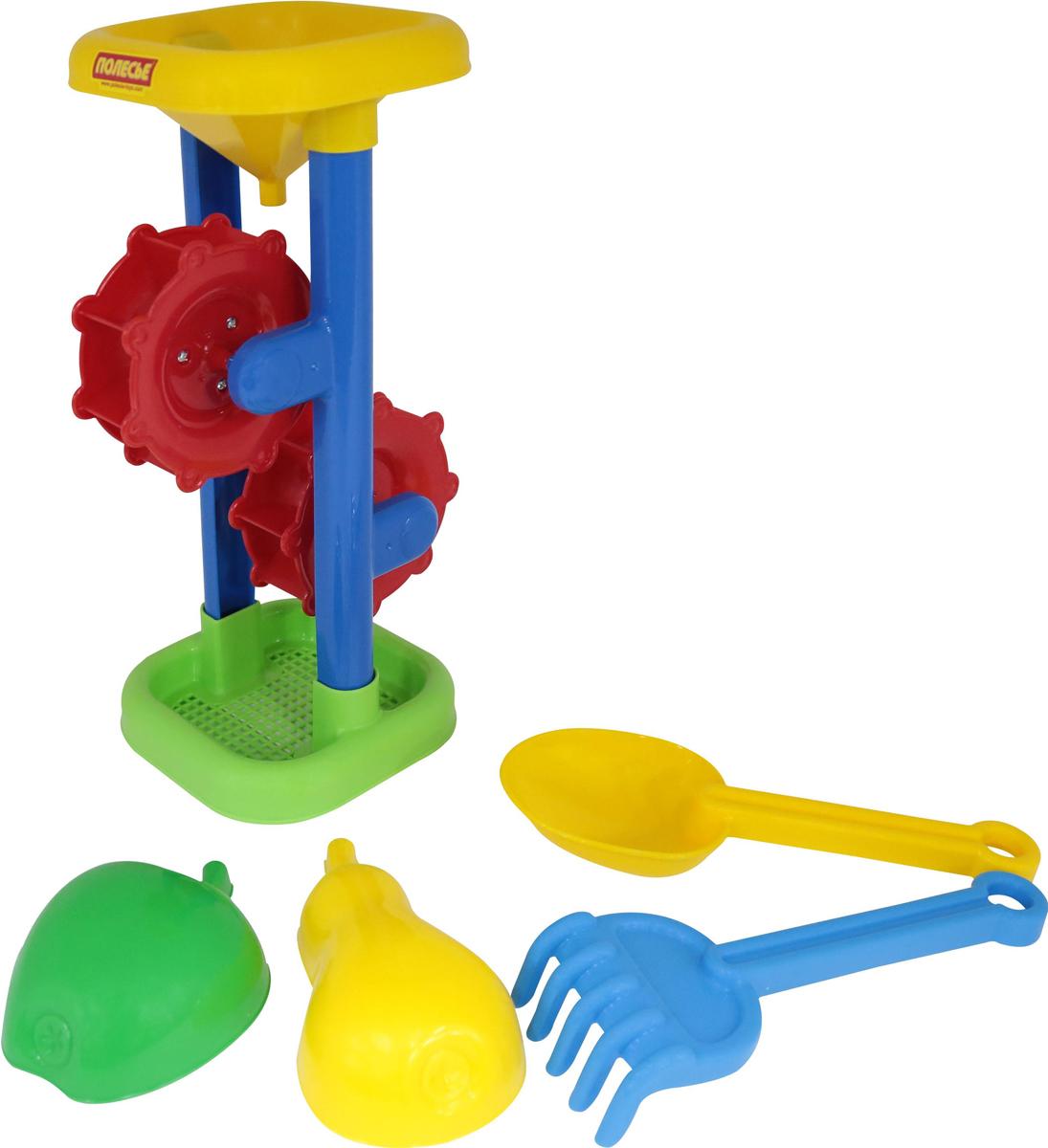 Фото - Полесье Набор игрушек для песочницы №397, цвет в ассортименте полесье набор игрушек для песочницы 281 цвет в ассортименте