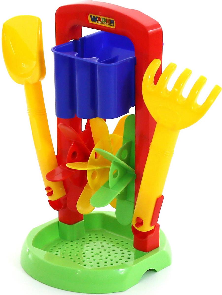 Полесье Набор игрушек для песочницы №413, цвет в ассортименте