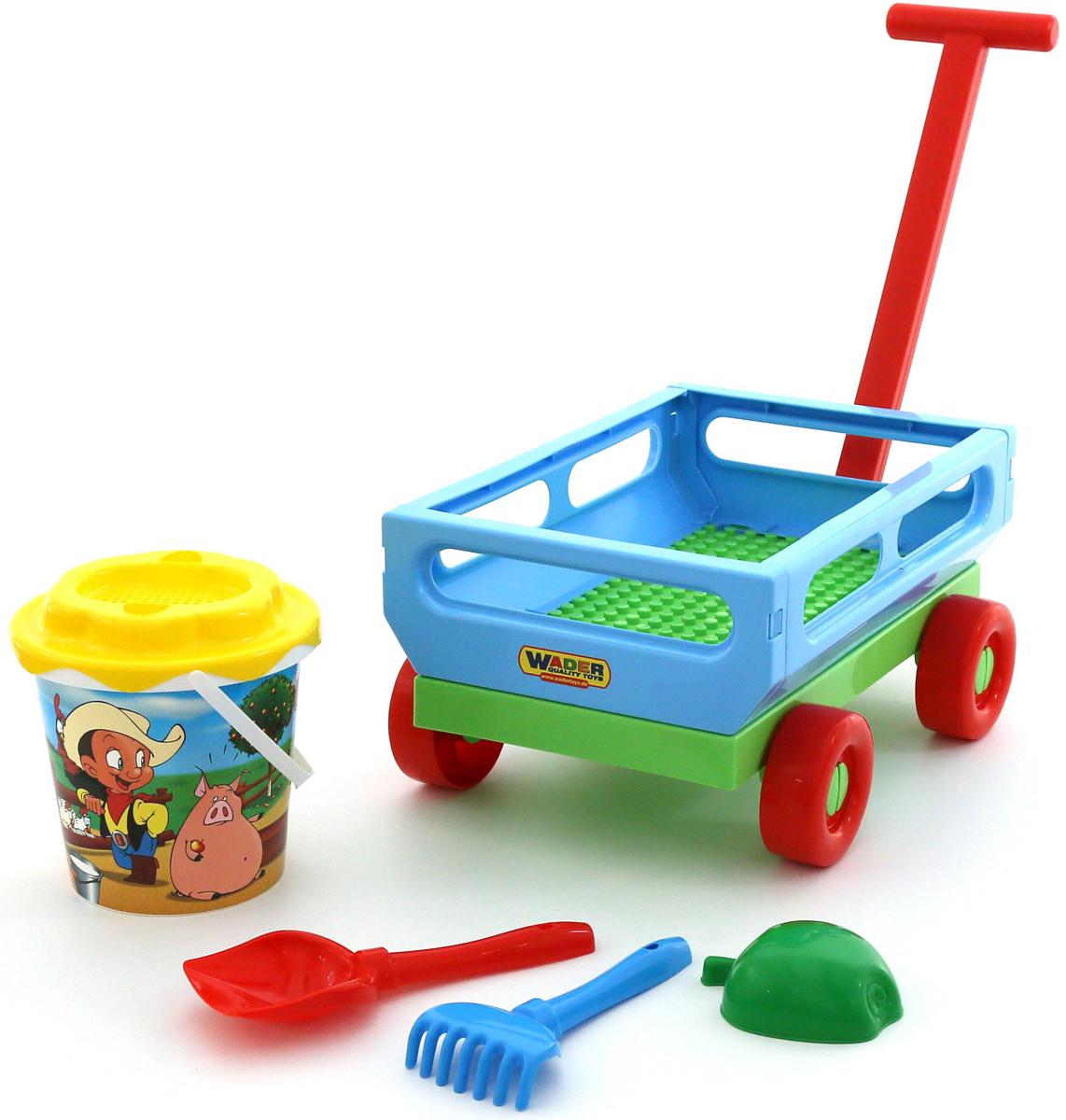 Полесье Набор игрушек для песочницы №420, цвет в ассортименте