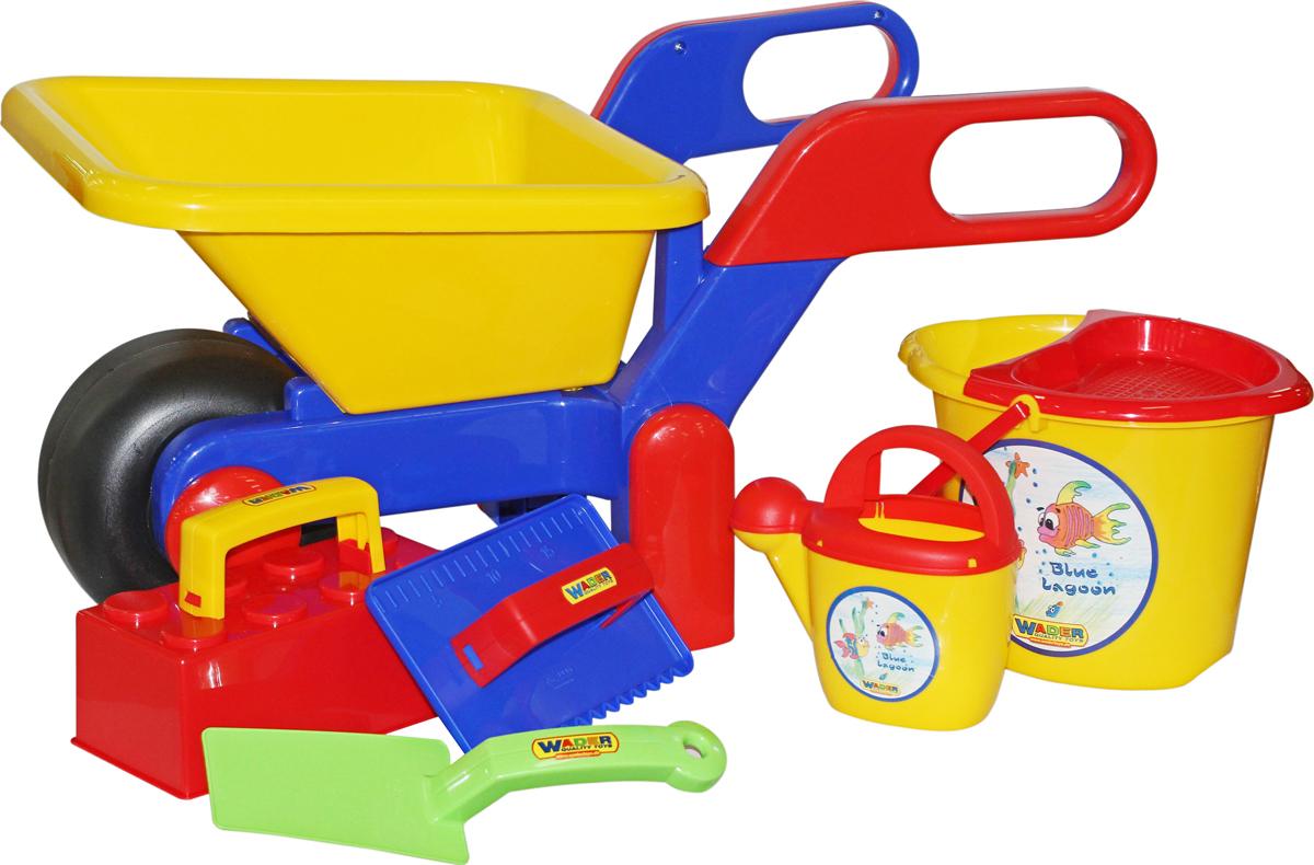 Полесье Набор игрушек для песочницы №447, цвет в ассортименте