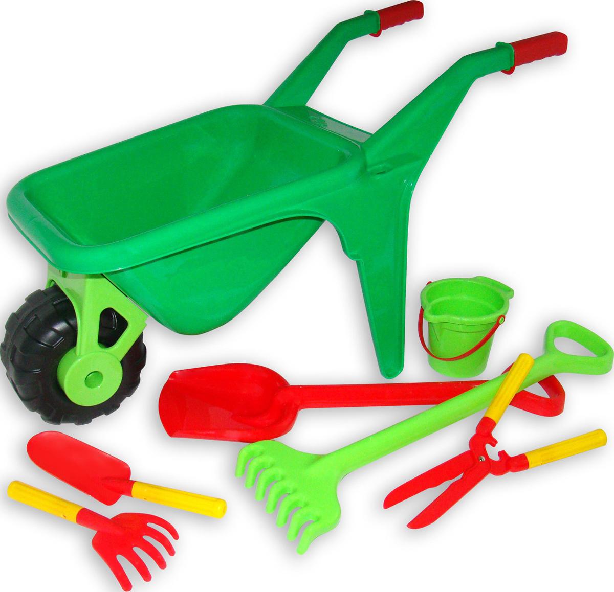 Полесье Набор игрушек для песочницы №454, цвет в ассортименте